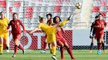 Tuyển nữ Thái Lan để tuột vé chung kết châu Á