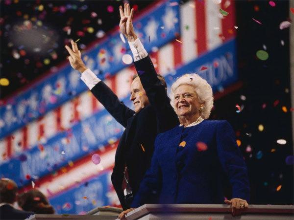 cựu đệ nhất phu nhân,qua đời,Barbara Bush,đệ nhất phu nhân Mỹ