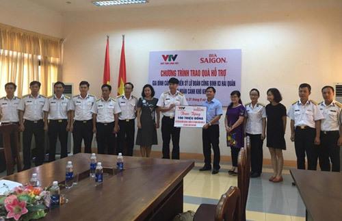 Bia Sài Gòn đồng hành cùng 'Biển đảo quê hương'