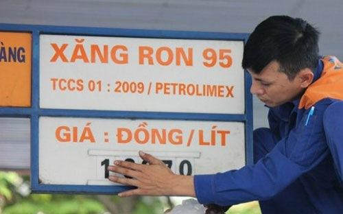 Ron 95,xăng dầu,giá xăng,Bộ Công Thương