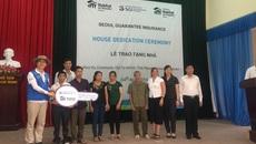 Nhiều hộ gia đình khó khăn ở Thái Nguyên được xây nhà mới