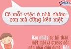 6 câu nói bóp nghẹt trái tim người mẹ đang nuôi con nhỏ