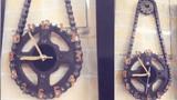 Đồng hồ được làm từ bộ xích líp gây choáng