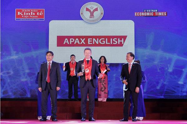 Apax English nhận giải Thương Hiệu Mạnh Việt Nam 2017-2018