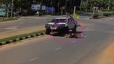 Pha thoát chết kỳ diệu sau tai nạn giao thông