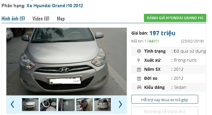 Dưới 200 triệu, bạn mua được những chiếc ô tô Hyundai cũ này ở Việt Nam