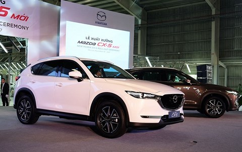 5 mẫu xe lắp ráp bán chạy nhất trong 3 tháng đầu năm