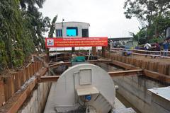 'Siêu máy bơm' ở Sài Gòn chờ 30 tỷ đồng