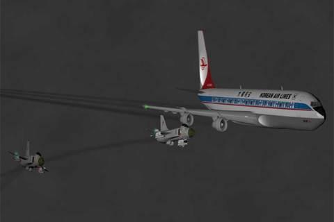 Máy bay Hàn lạc vào không phận Liên Xô