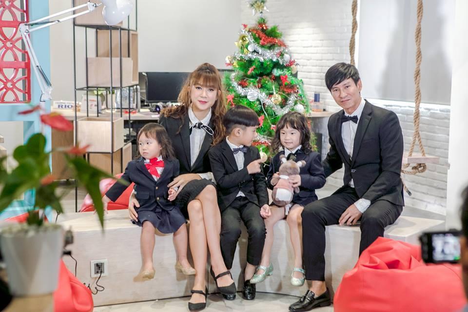 'Gái bốn con' Minh Hà kể xấu ông xã Lý Hải