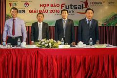 Giải Futsal HDBank VĐQG 2018 : Nhiều nét mới để hy vọng