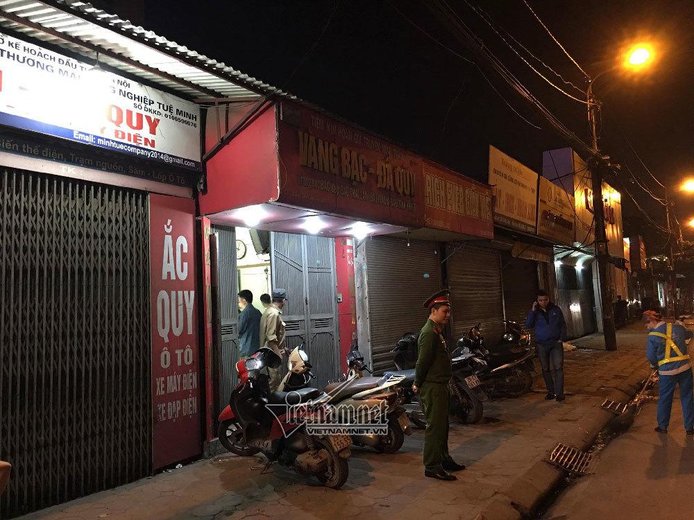 cướp tiệm vàng,Hà Nội