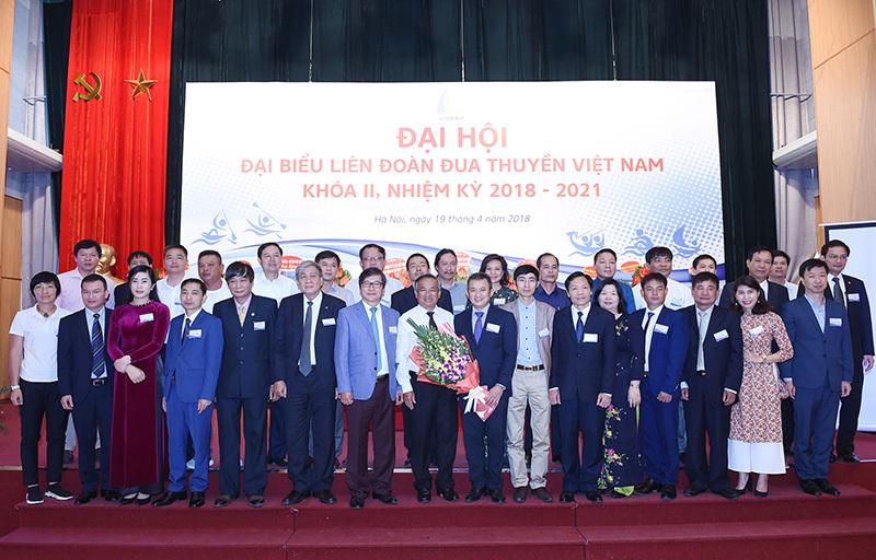 Liên đoàn đua thuyền Việt Nam có Chủ tịch mới