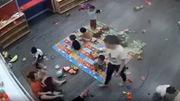 Đình chỉ hoạt động cơ sở mầm non có trẻ bị đánh tới tấp