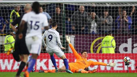 Video Morata bỏ lỡ cơ hội