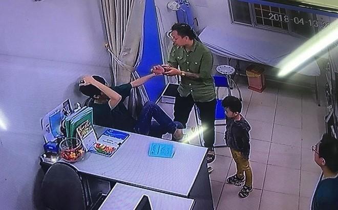 bệnh viện Xanh pôn,Hà Nội,bác sĩ,bác sĩ bị đánh,hành hung bác sĩ