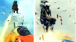 Xem lại cảnh chiến cơ siêu âm đâm xuống biển, phi công thoát thân nghẹt thở