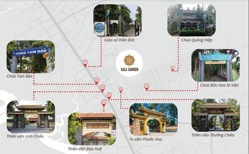 Nghĩa trang sinh thái cao cấp Sala Garden, liền kề TP.HCM