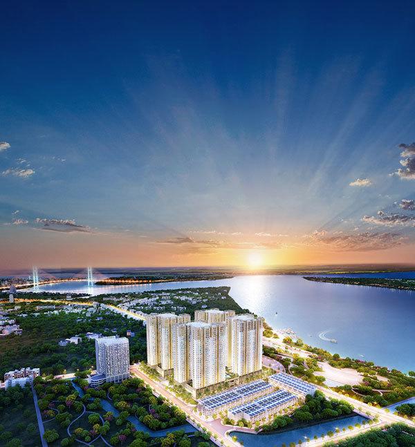 Sống đẳng cấp ở Q.7 Saigon Riverside Complex