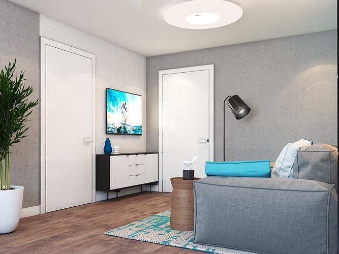 Thiết kế căn hộ nhỏ không đụng hàng