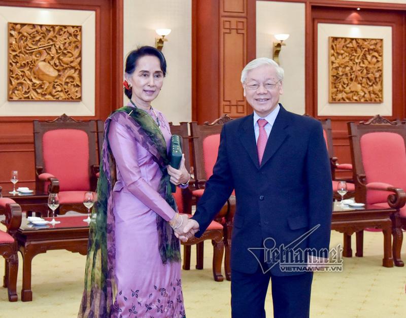 Tổng bí thư,Chủ tịch Quốc hội,Myanmar,ASEAN