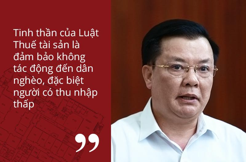 thuế tài sản,tăng thuế,tái cơ cấu ngân sách,Bộ trưởng Tài chính,Đinh Tiến Dũng