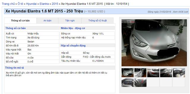 Xe cũ xuống giá nhanh, từ 200 - 300 triệu bán tràn lan