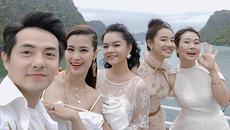 Nhã Phương vui đùa trên du thuyền giữa scandal của Trường Giang - Nam Em
