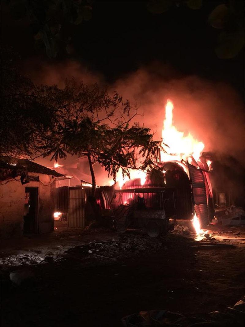 hỏa hoạn,cháy nổ,cháy xưởng,Hà Nội