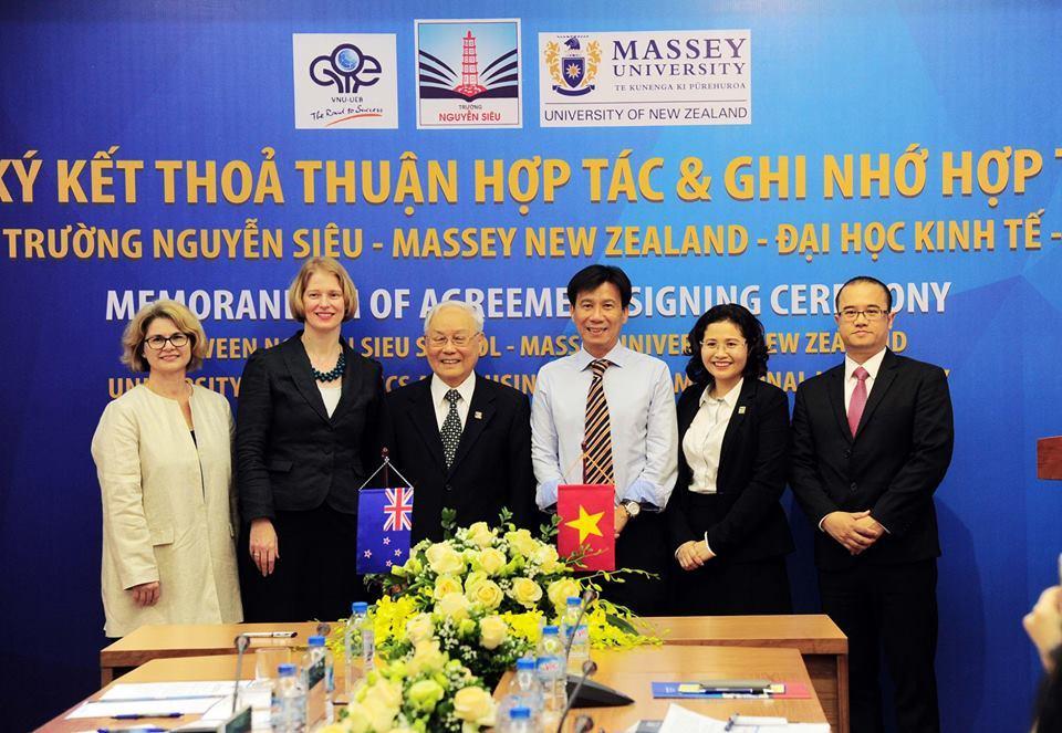 Chương trình dự bị đại học New Zealand mở tại Việt Nam
