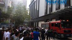 Cháy căn hộ Xuân Thủy Tower: Bất cẩn khi dùng máy sấy