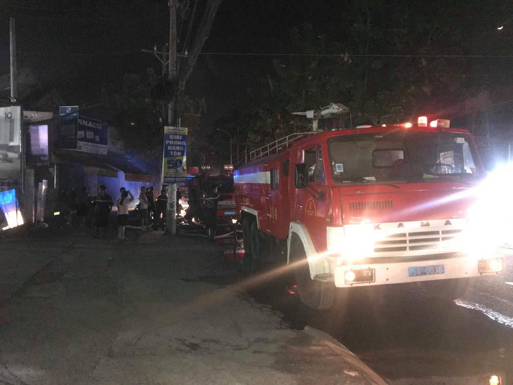 cháy lớn,cháy lớn ở Sài Gòn,phòng cháy chữa cháy
