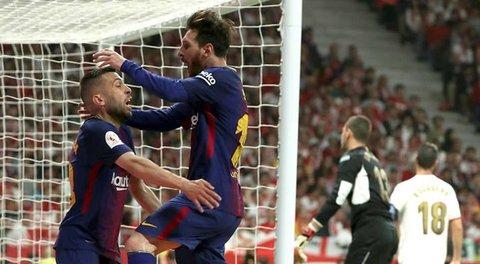 Sevilla 0-5 Barcelona