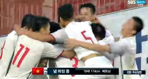 U19 Việt Nam 1-1 U19 Hàn Quốc