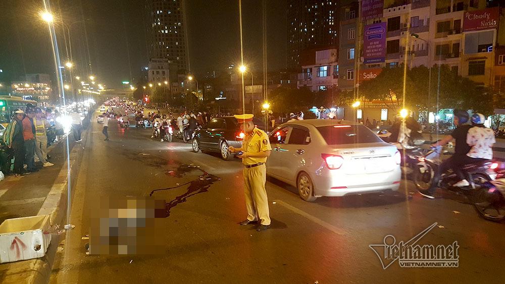 tai nạn,tai nạn giao thông,tai nạn chết người,cầu vượt Ngã Tư Sở,Hà Nội