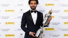 Salah đoạt danh hiệu Cầu thủ xuất sắc nhất Premier League