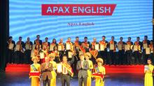 Apax English nhận giải Sao Khuê 2018