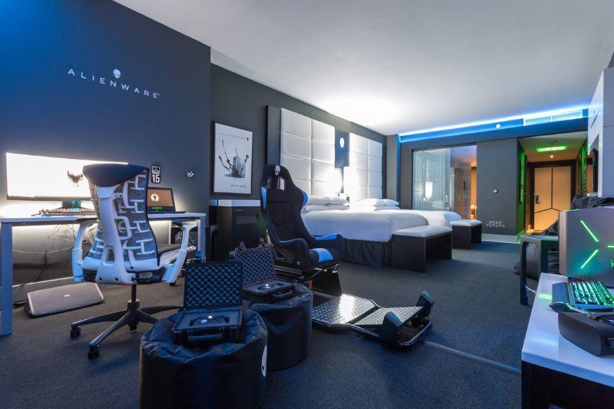 Khách sạn dành riêng cho game thủ