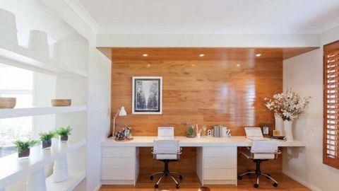Nội thất nhà đẹp với cách bố trí góc làm việc độc đáo