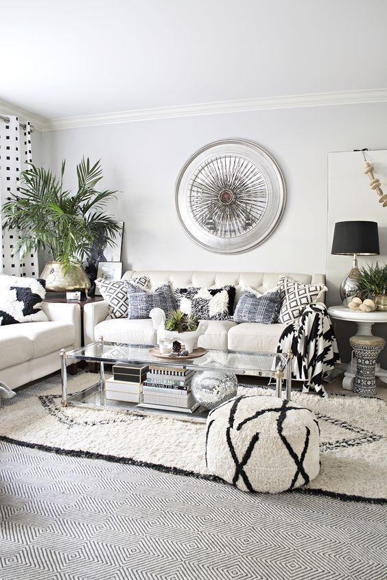 Cách trang trí nội thất nhà ở với tông màu trắng
