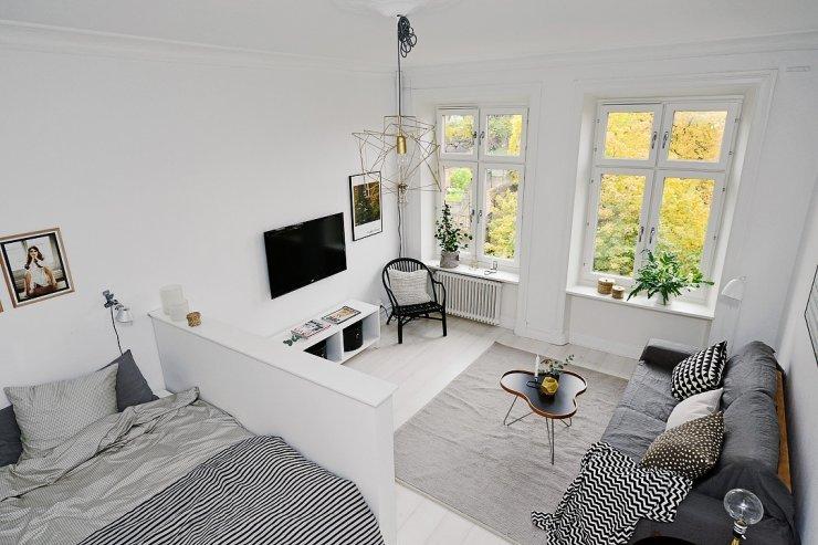 Nhà đẹp 41 mét vuông phong cách Scandinavia