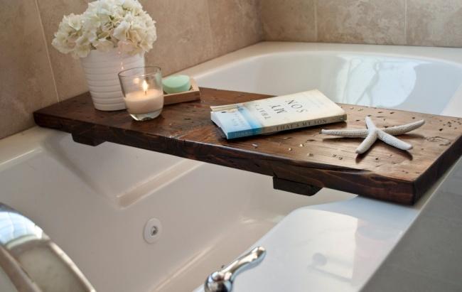Nội thất nhà tắm không tốn kém với phong cách trang trí đơn giản