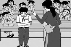 Xác minh thông tin cô giáo tiểu học ở TP.HCM bắt học sinh ngậm dép