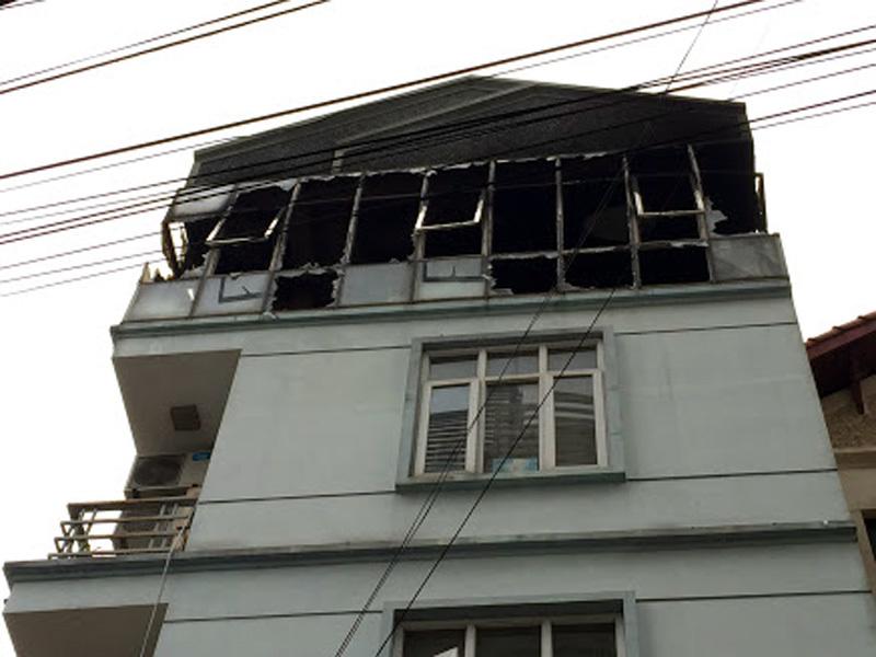 cháy nổ,cháy trường mầm non,hỏa hoạn,Hà Nội