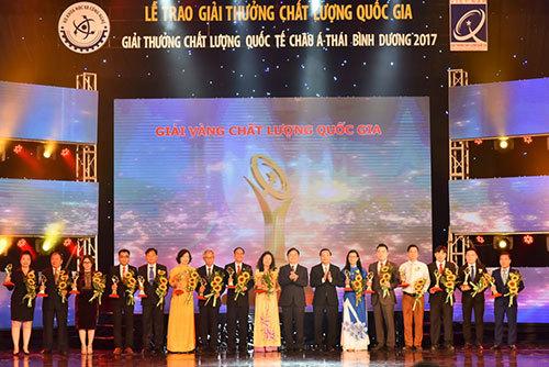 Tân Á Đại Thành nhận Giải vàng Chất lượng Quốc gia