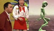 Quyền Linh cosplay điệu nhảy 'người ngoài hành tinh' khiến người xem cười bể bụng