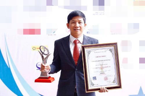 Xuân Hòa nhận Giải thưởng Chất lượng Quốc gia năm 2017