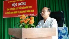 Chủ tịch huyện đảo Lý Sơn bị kỷ luật khiển trách