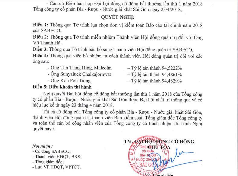 Đại gia Thái chiếm ghế lãnh đạo, lập đại bản doanh tại Việt Nam
