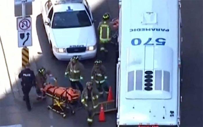 Canada,xe điên đâm người,xe điên,tai nạn giao thông,hiện trường tai nạn